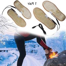 1 Pair Outdoor USB Interface Foot Warmer Electric Heating In