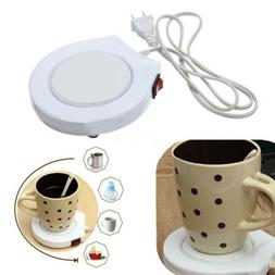 220V Electric Tea Coffee Cup Rapid Mug Heat Warmer Heater Ho