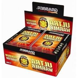 Grabber 24+ Hour Ultra Body Warmers - Box of 30