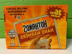 72 Hot Hands Handwarmers Warmers 36 Pairs Outdoor Camping FR
