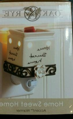 Accent Warmer HOME SWEET HOME Fragrance Warmer Beige Ceramic