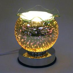 Chrome 3D Touch Electric Scent Oil Diffuser Warmer Burner Ar