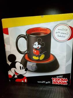 Disney Mickey Mouse Mug Warmer 10oz Ceramic Mug Included