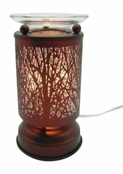 Electric Metal Fragrance Lamp Touch Control Oil Warmer and