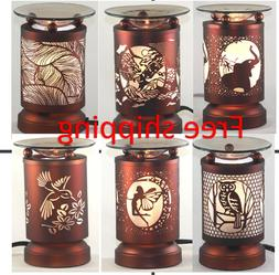 Electric Metal Fragrance Lamp Touch control Oil Warmer Wax B