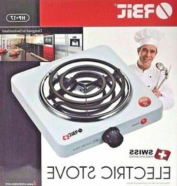 Orbit Electric Stove Single Burner Hot Plate Countertop Warm