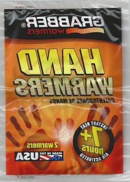 18 count Grabber Hand Warmers 2in x 3.5in. 7+ Hour Made in U