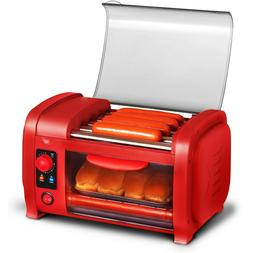 Hot Dog Roller Toaster Oven Sausage Maker Kitchen Cooker Mac