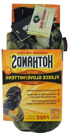 MMO-2 HeatMax HotHands Heated Camo Mittens XL Mossy Oak Brea