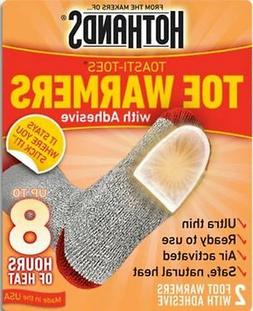 HeatMax 16 Pairs of HOTHANDS Toe Warmers with Adhesive