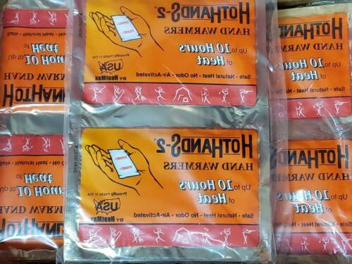 hand warmers 35 pair great for skiers
