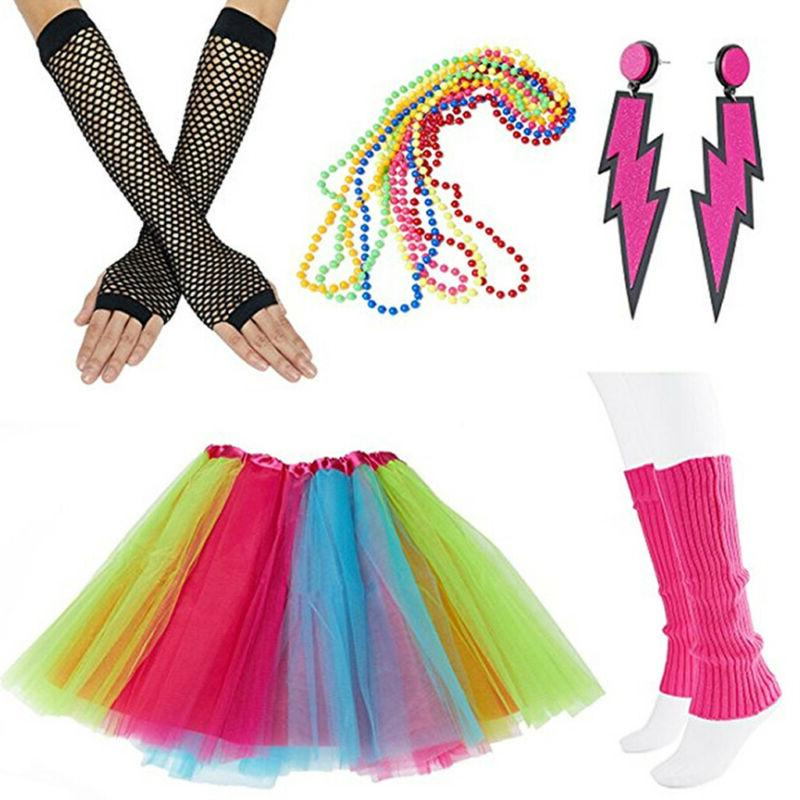 NEON TUTU SET WARMERS COSTUME