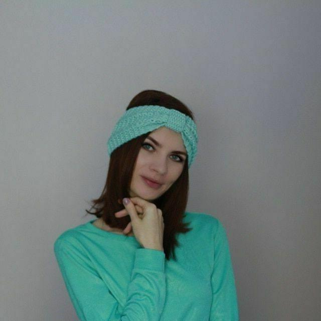 Women's Warmer Knitted Turbans Accessories