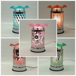 Metal Sculpture Touch Electric Fragrance Lamp Oil Wax Warmer