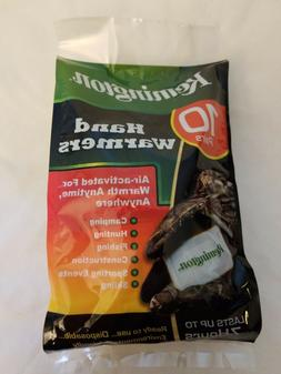 Remington Hand Warmers by IRIS, Lasts up to 10 Hours, Set of