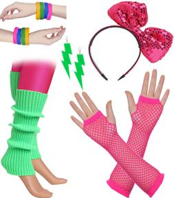 Women's Theme Party Costume 80s Outfit Accessories Earrings