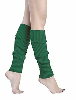 V28Women Winter 80s Eighty's Warm Leg Warmers Knitted Long S